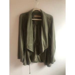 Army Green Max Jeans Jacket